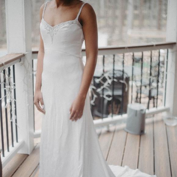 ce52d733f9785 Jim Hjelm Dresses | Sheath Silk Dress Size 6 Style 8552 | Poshmark